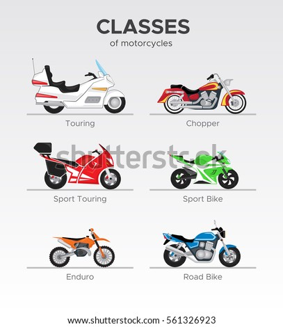 kinds of motorcycles on types