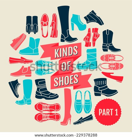 kinds of shoes. part 1