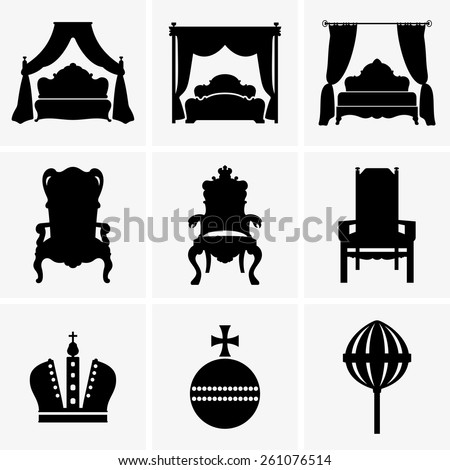 King beds and thrones