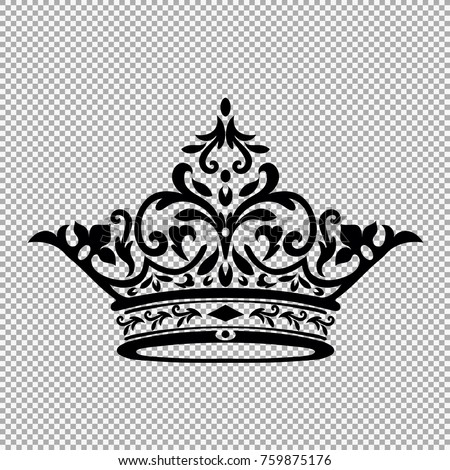 King Crown Logo Vector Illustration.