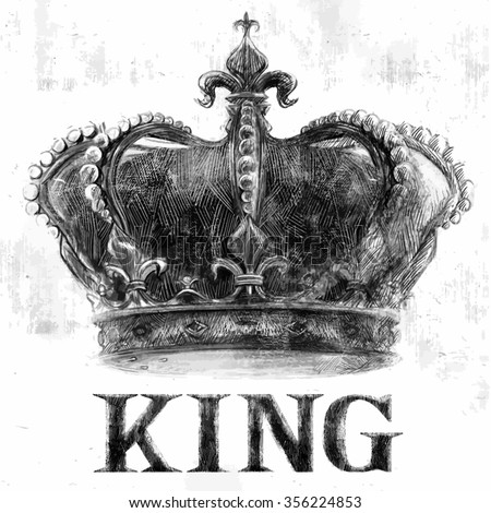 king crown tee graphic