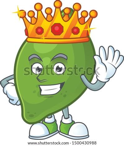 king fresh lime cartoon