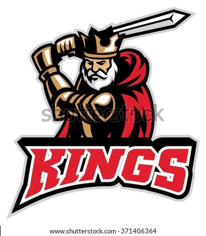 king knight mascot