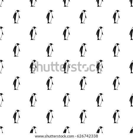 king penguin pattern seamless