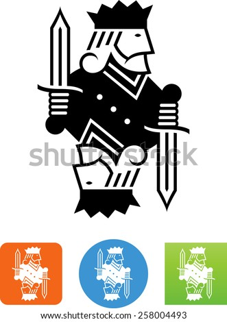 King playing card Сток-фото ©