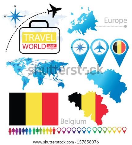 kingdom of belgium flag world