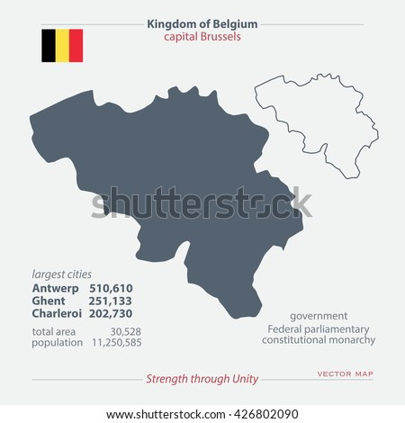 kingdom of belgium isolated