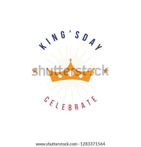 kingsday Vector Template