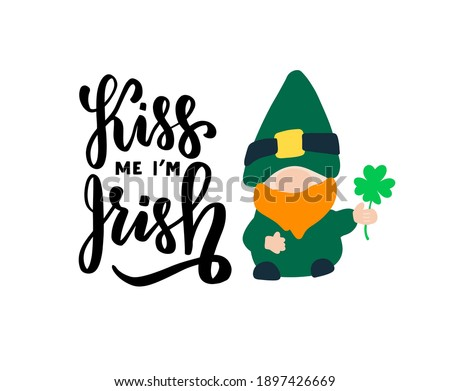 kiss me  i am irish quote with