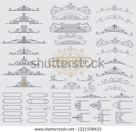 stock-vector-kit-of-vintage-elements-for-invitations-banners-posters