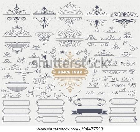 kit of vintage elements for...