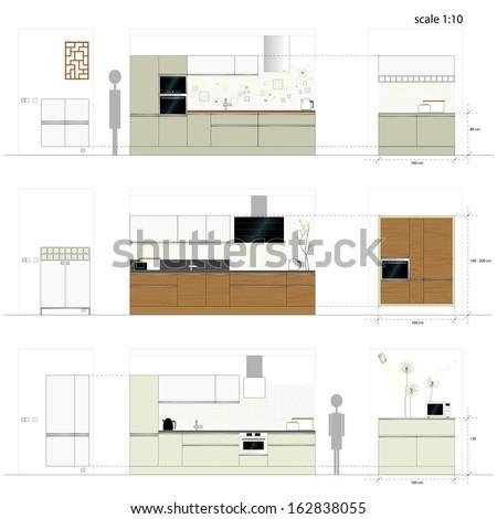 kitchen furniture interior