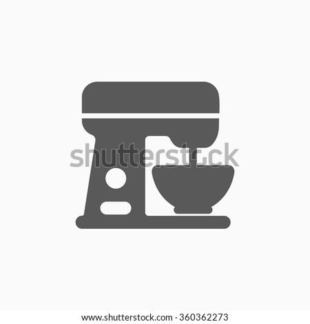 kitchen mixer icon