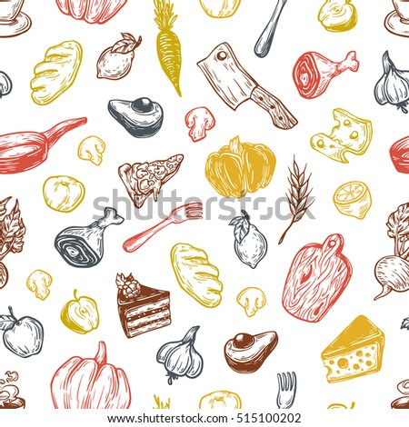 kitchen pattern cooking