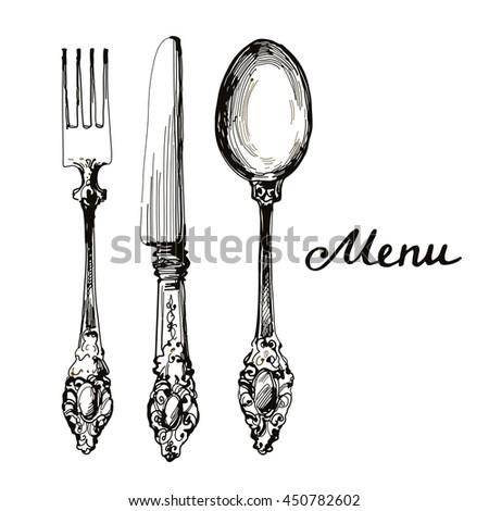 kitchen stuff silverware knife  ...