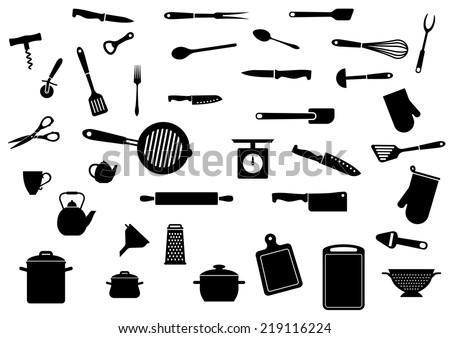 Restaurant Kitchenware free kitchen utensils vector - download free vector art, stock