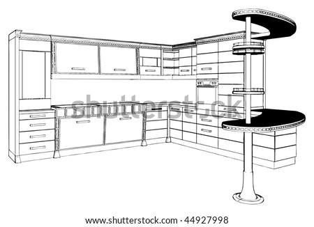 kitchen vector 01