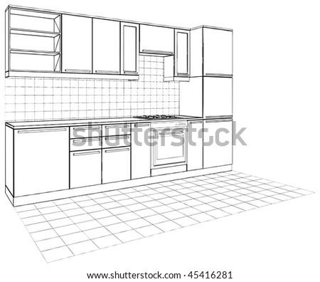 kitchen vector 04