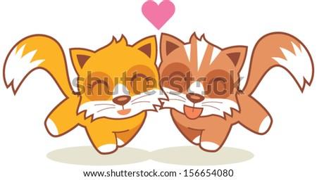 kitten happy