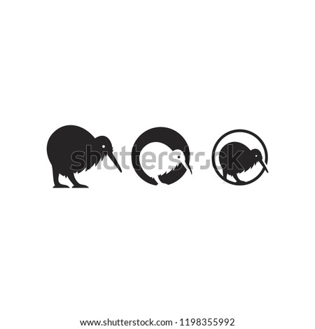 kiwi logo icon designs vector