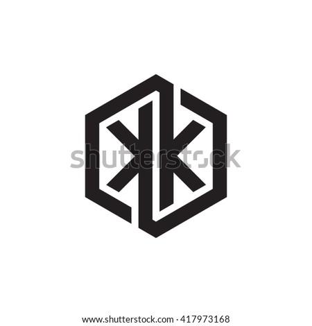 kk initial letters looping