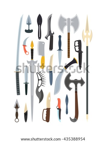 knifes weapon collection