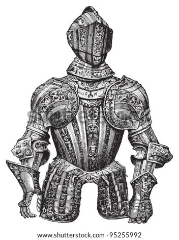 knight armour  cuirass