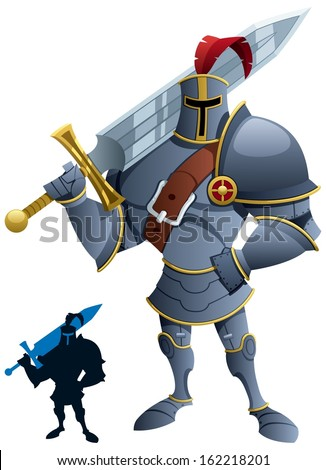 knight  cartoon knight
