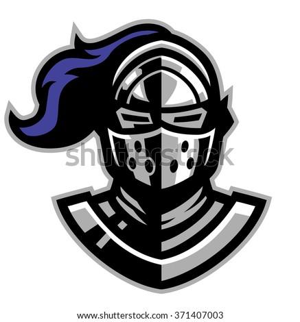 Knight helmet Free Vector / 4Vector