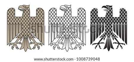 knight heraldic emblem german