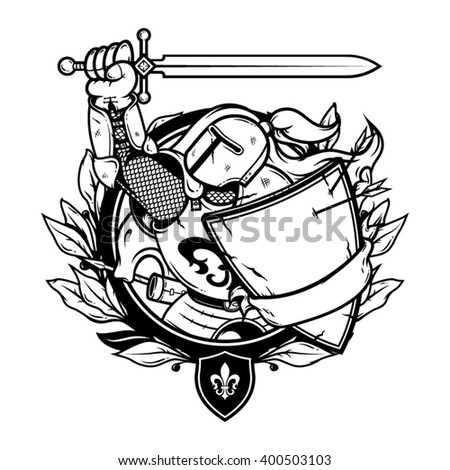 knight illustration knight