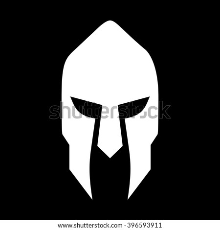 knight warrior logo vector