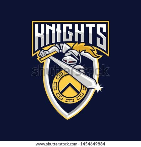knights e sport logo knight