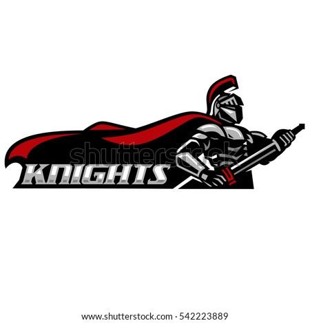 knights wielding swords