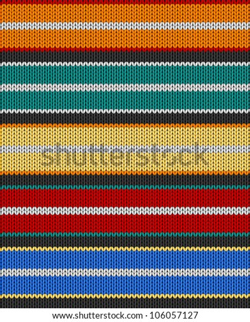Knit texture. Fabric multicolor background. Seamless vector eps10 pattern. Raster file included in portfolio