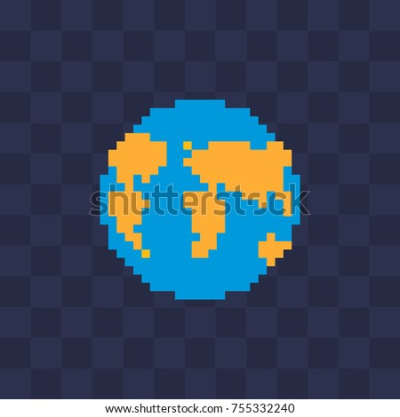 knitted earth web site icon
