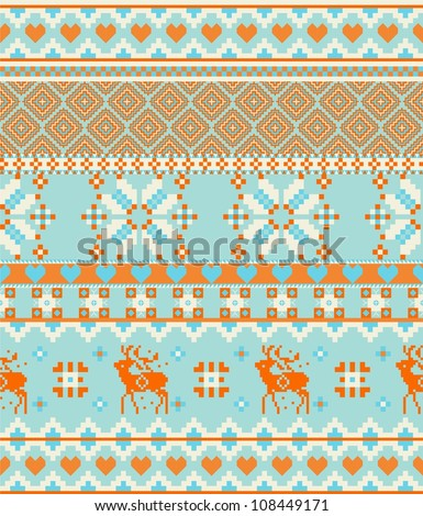 15 Knit Christmas Tree Ornament Patterns | AllFreeKnitting.com