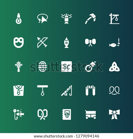 knot icon set collection of 25