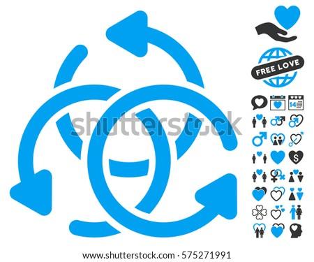knot rotation icon with bonus