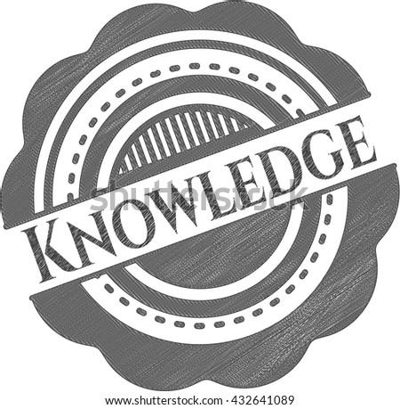 Knowledge draw (pencil strokes)