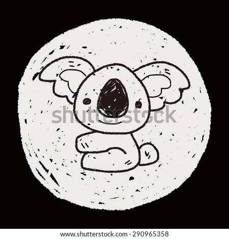 koala doodle