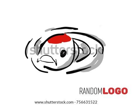 koi logo perfect for farm and