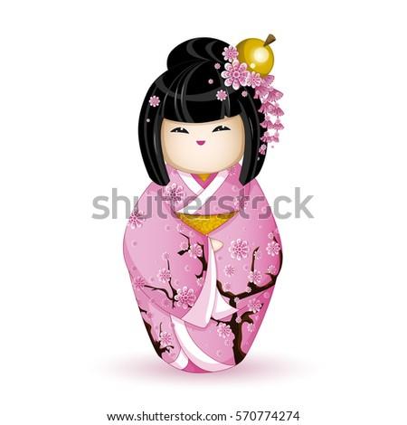 kokesh japanese national doll