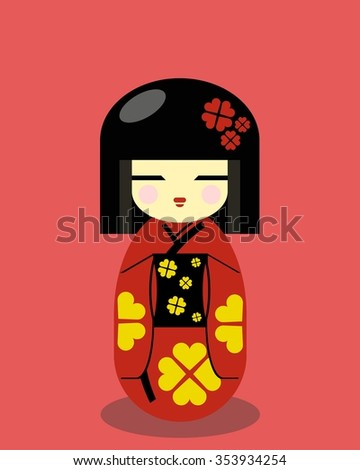 kokeshi doll   japanese people