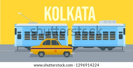 Kolkata tram service