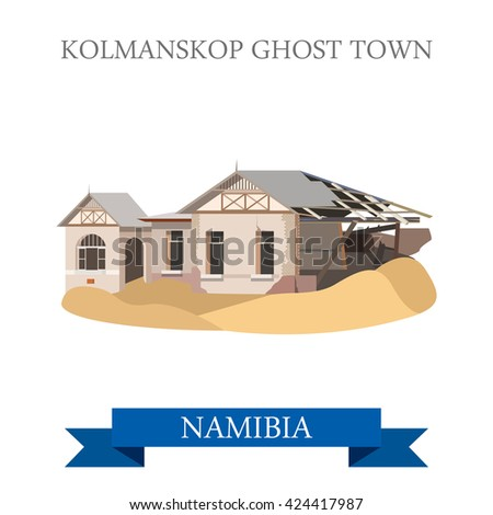 kolmanskop ghost town in