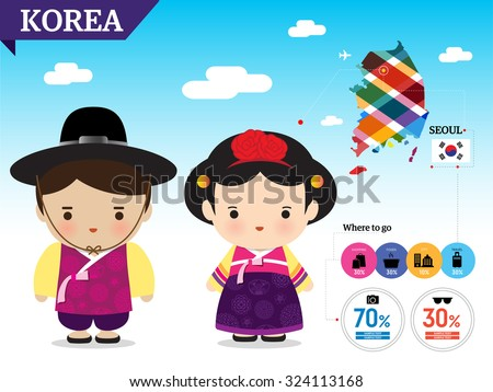 korea   traditional costume