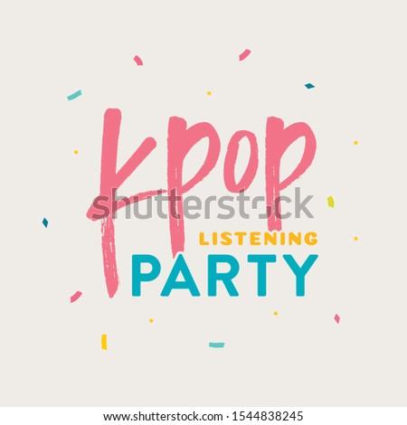 korean kpop listening party