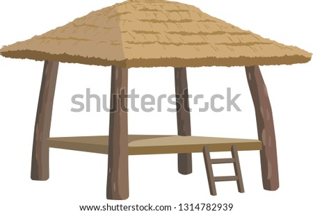Korean Lookout Shed (wondumak, lookout hut)