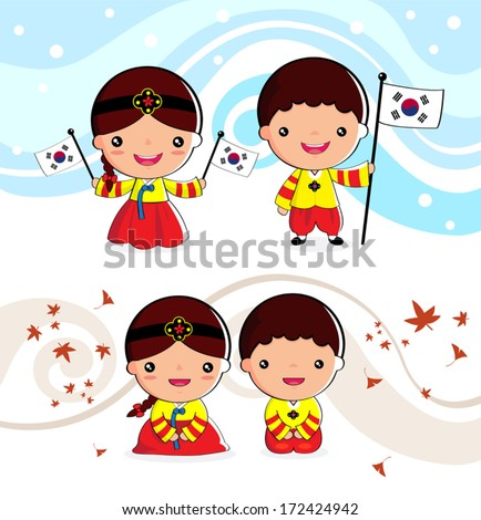 korean traditional costume boys